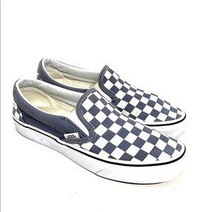 Vans Checkerboard Cushioned Slip-on Sneaker 7.5